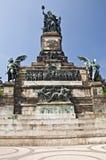 Niederwald Monument, Germany Stock Photo