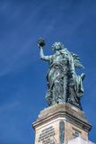 Niederwald Monument near Ruedesheim Royalty Free Stock Photo