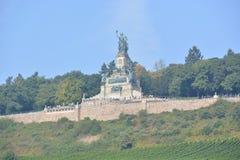 Niederwalddenkmal в Германии Стоковые Изображения
