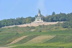 Niederwalddenkmal в Германии Стоковая Фотография