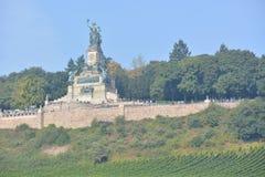 Niederwalddenkmal в Германии Стоковое фото RF
