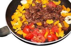 Niedojrzały jackfruit jest nowym doskonalić i apetycznym weganinu mięsa namiastką obraz stock