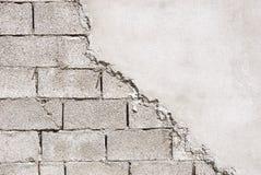 niedokończona ściana Obrazy Stock