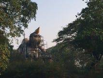 Niedokończony Buddha obrazy royalty free