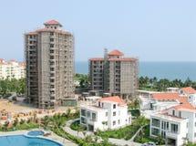 niedokończony budowa plażowy rozwój Zdjęcie Royalty Free