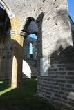 Niedokończony kościół, Bermuda Zdjęcie Royalty Free