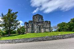 Niedokończony kościół - Bermuda obrazy royalty free