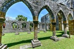 Niedokończony kościół - Bermuda fotografia royalty free