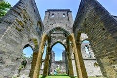 Niedokończony kościół - Bermuda zdjęcia royalty free