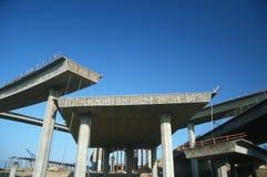Niedokończona Autostrada Zdjęcia Royalty Free