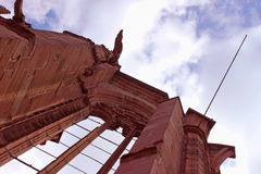 Niedokończone kaplic ruiny Zdjęcie Royalty Free