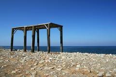 niedokończony budowy summerhouse Obraz Stock