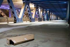 niedokończony mostu Zdjęcia Royalty Free