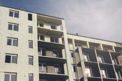 Niedokończony rodzajowy budynek mieszkalny Obraz Royalty Free