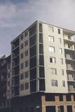 Niedokończony rodzajowy budynek mieszkalny Obraz Stock