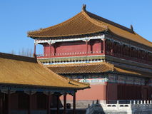 Niedozwolony miasto Panoramiczny, Pekin, Chiny Zdjęcia Stock