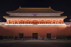 Niedozwolony Miasto, Pekin, Chiny Zdjęcia Stock