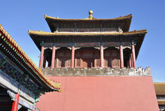 Niedozwolony miasto, Pekin, Chiny Obrazy Royalty Free