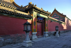 Niedozwolony miasto, Pekin, Chiny Obraz Stock