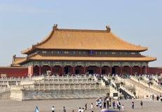 Niedozwolony miasto, Pekin, Chiny Zdjęcie Royalty Free