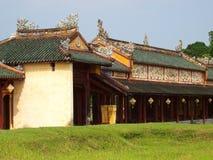 NIEDOZWOLONY pałac, światowy dziedzictwo kulturowe w odcienia mieście WIETNAM Zdjęcia Stock