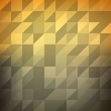 Niedrig- polygonaler dreieckiger Steigungsvektorhintergrund stock abbildung