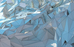 Niedrige abstrakte Polyzeichnung Lizenzfreie Stockbilder
