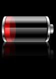 Niedrige Batterie lizenzfreie stockfotografie