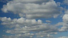 Niedrige Kumuluswolken stock video