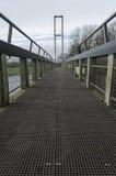 Niedrige Standpunktbrücke Stockbild