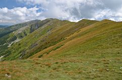 Niedrige Tatras Ansicht Lizenzfreies Stockfoto