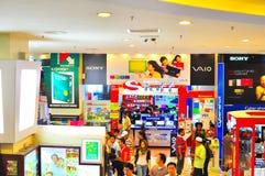 Niedrige Yat Piazza Stockfotos