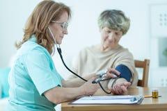 Niedriger Blutdruck Stockbilder