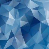 Niedriger Polyregenbogen-Hintergrund Lizenzfreies Stockbild