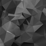 Niedriger Polyregenbogen-Hintergrund Stockfotografie