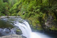 Niedrigere Punchbowl Fälle, Kolumbien-Fluss-Schlucht Lizenzfreie Stockbilder