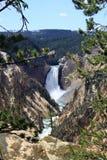 Niedrigere Yellowstone-Fälle Lizenzfreies Stockfoto