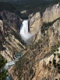 Niedrigere Yellowstone-Fälle Lizenzfreies Stockbild