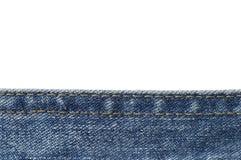 Niedriges drittes der Jeans stockbild