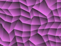 Niedriges Polygon mit Linie und Punkt Lizenzfreies Stockfoto