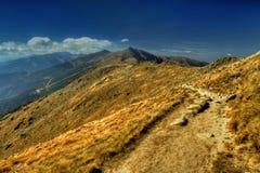 Niedriges Tatras Stockfotografie