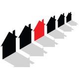 niedrogi budynki mieszkalne Zdjęcie Royalty Free