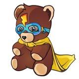 niedźwiadkowego bohatera super miś pluszowy Zdjęcie Royalty Free