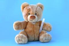 niedźwiadkowy chory miś pluszowy Fotografia Royalty Free