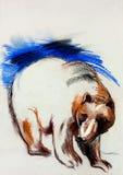 Niedźwiadkowy rysunek Fotografia Stock