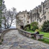 Niedzica Castle στην Πολωνία, άνοιξη sesason στοκ φωτογραφίες με δικαίωμα ελεύθερης χρήσης