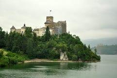 Niedzica castle royalty free stock images