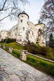 Niedzica Castle at Czorsztyn Lake in Poland Stock Photos