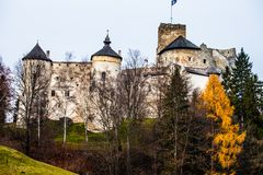 Niedzica Castle   Royalty Free Stock Photo