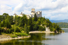 Niedzica Castle, Poland. Niedzica Castle in Southern Poland royalty free stock images